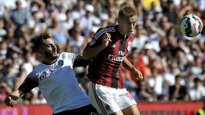 VIDEO / Goluri FABULOASE la AC Milan – Chievo. Honda şi Muntari au realizat execuţiile serii în Europa!
