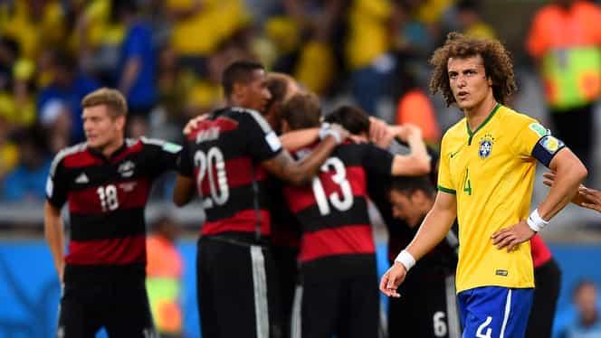 """Cele mai tari 10 meciuri ale ultimului deceniu în fotbal. Incredibilul Germania-Brazilia de la CM 2014, episoade spectaculoase din """"El Clasico"""" și dueluri din cupele europene, prezente în top. VIDEO"""
