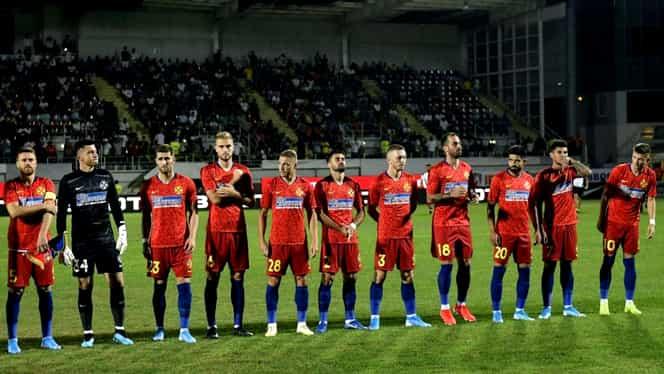 Moment istoric! FCSB e pe ultimul loc în Casa Pariurilor Liga 1 după șapte etape!