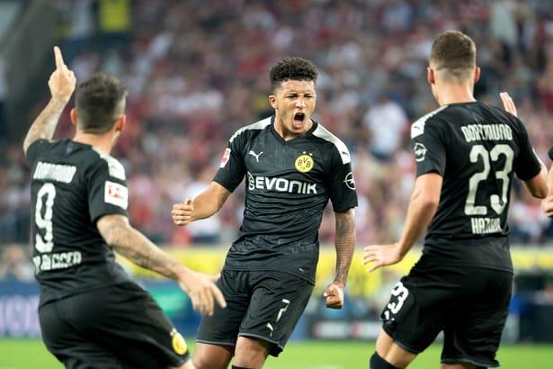 Jadon Sancho este noul star de la Borussia Dortmund. Sursă Foto: Hepta