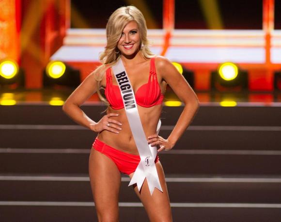 Noemie Happart, iubita lui Carrasco. Blondina în vârstă de 24 de ani a fost Miss Belgia.