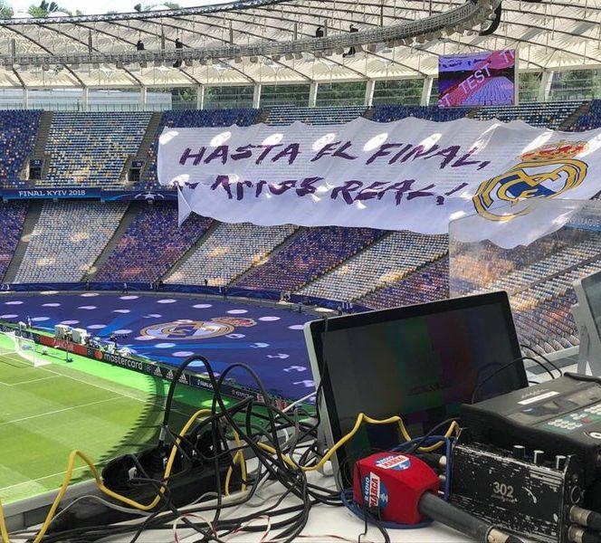 Mesajul fanilor lui Real Madrid înainte de finala Champions League
