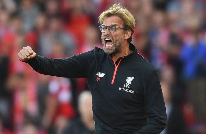 Jurgen Klopp pe banca lui Liverpool