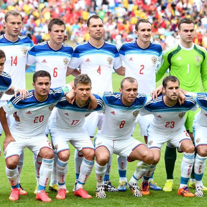 Echipa naţională a Rusiei pentru Campionatul Mondial din 2018