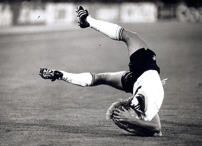 Fotografii rare din fotbal. 8 iulie 1990: stadionul Olimpic, Roma, finala CM din Italia, Germania - Argentina