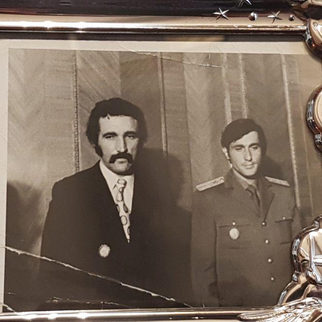 Ilie Năstase și Ion Țiriac, parteneri într-un dublu de legendă, în vremurile de glorie ale tenisului nostru, când aduceau finala Cupei Davis la București