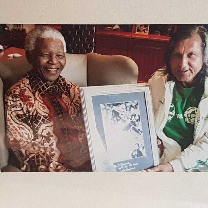 Ilie Năstase spune că fotografia cu uriașa personalitate care a fost Nelson Mandela echivalează cu un Grand Slam!