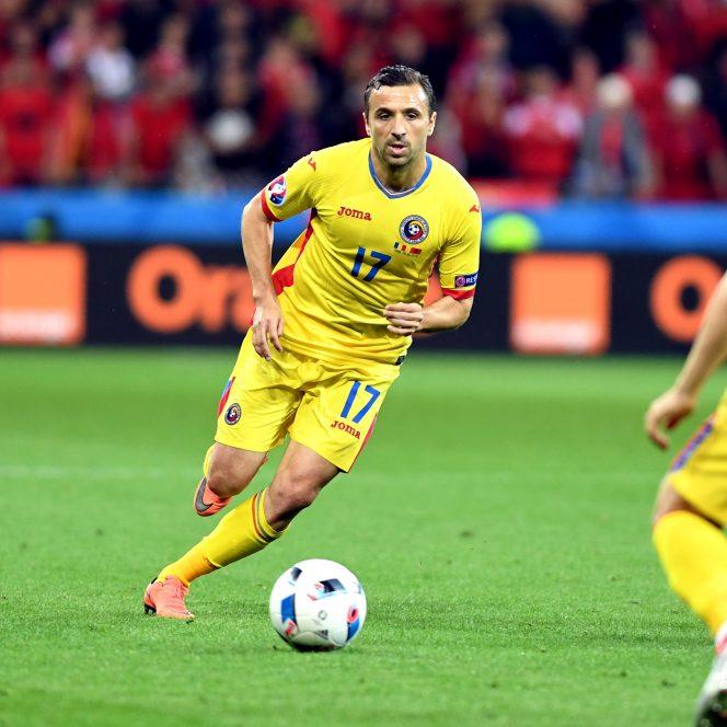 Lucian Sănmărtean şi-a anunţat retragerea din fotbal. Mijlocaşul, în tricoul României