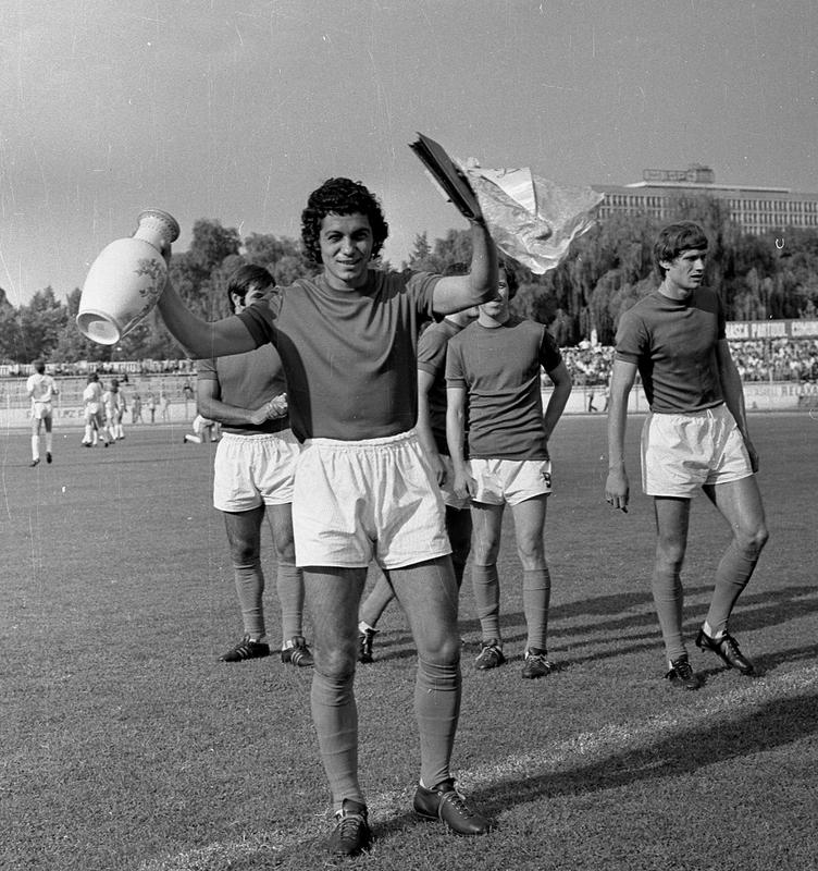 """Mircea Lucescu a cunoscut multe momente de bucurie în tricoul lui Dinamo, mai ales pe stadionul din """"Groapa"""" din Șoseaua """"Ștefan cel Mare"""""""