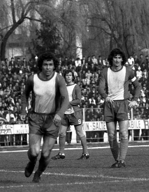 """Mircea Lucescu, o legendă a lui Dinamo, împreună cu alte două legende ale """"câinilor"""", Florea Dumitrache și Cornel Dinu, au """"făcut legea"""" în """"Groapa"""" din Șoseaua """"Ștefan cel Mare"""""""