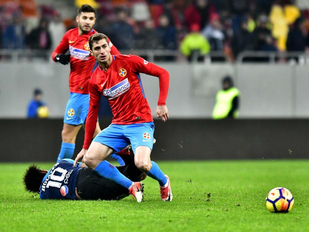 Ionuţ Larie în meciul dintre FCSB şi Viitorul Constanţa