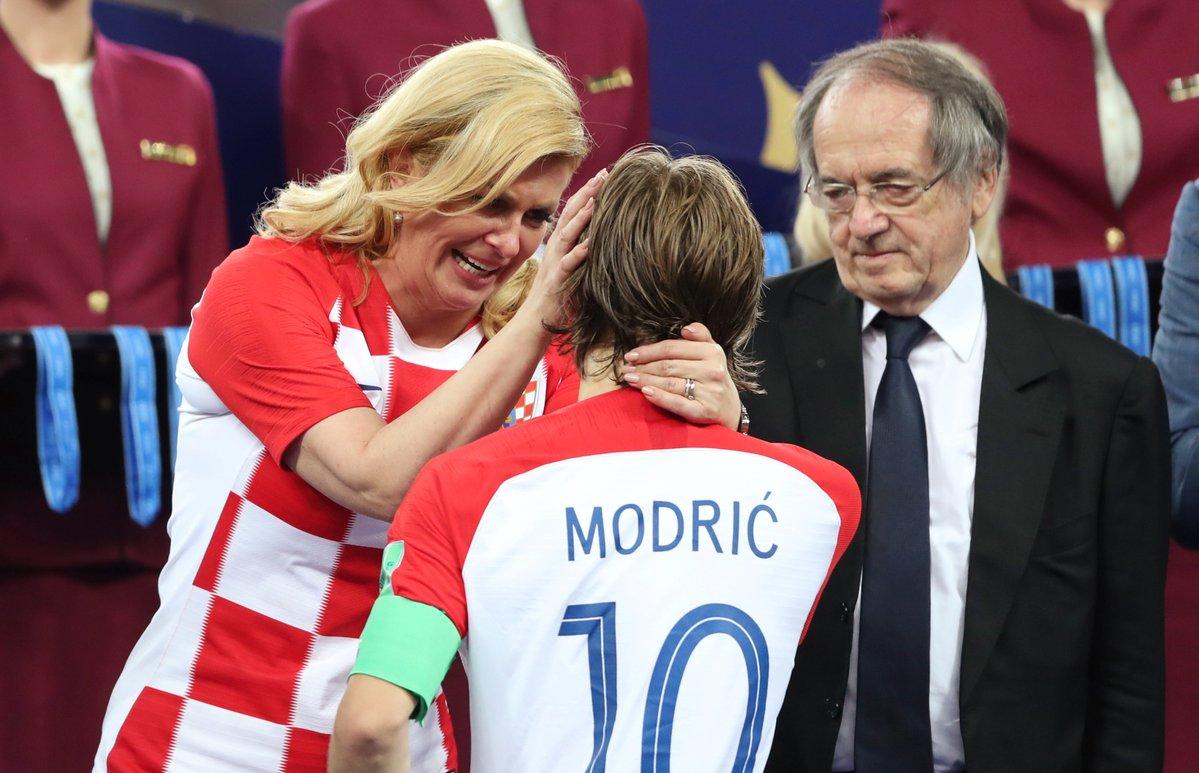 Președintele Croației, Kolinda Grabar-Kitarovic, a fost criticată dur în țară după finala CM 2018