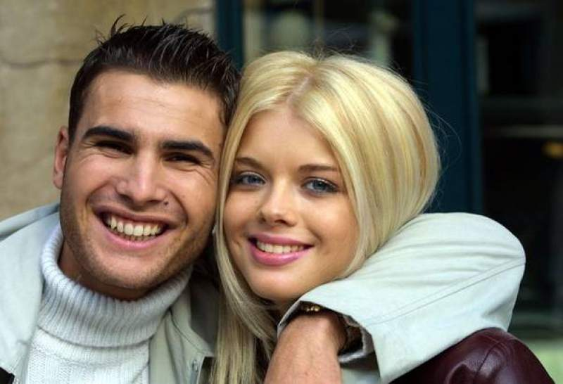 Adrian Mutu lost the trial to Alexandra Dinu. In the picture, Adrian Mutu, with his former wife, Alexandra Dinu
