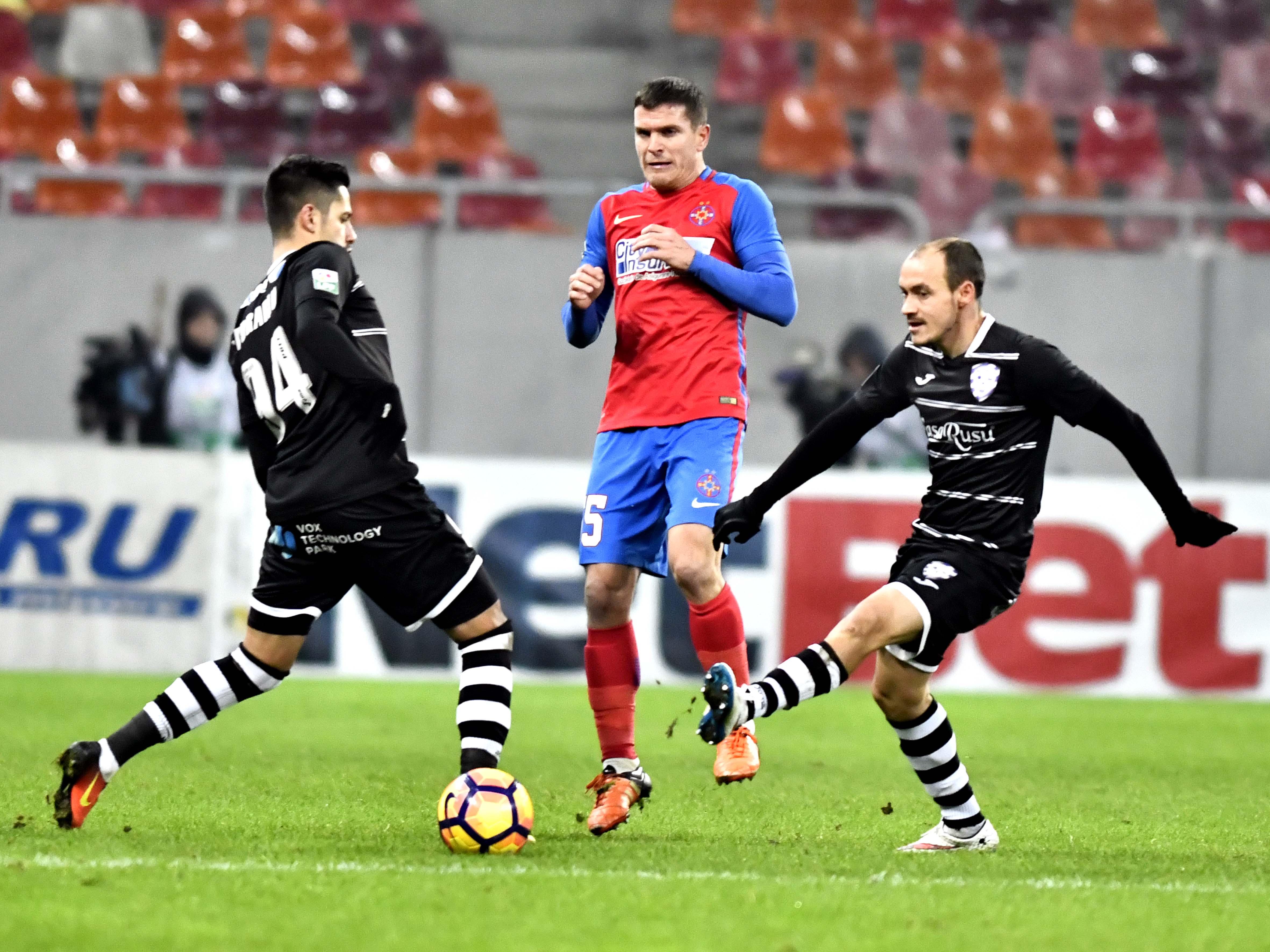 Bourceanu a fost prezentat oficial la Dunărea Călăraşi! Mijlocaşul în tricoul FCSB într-un meci disputat pe Arena Naţională, cu ACS Politehnica Timişoara