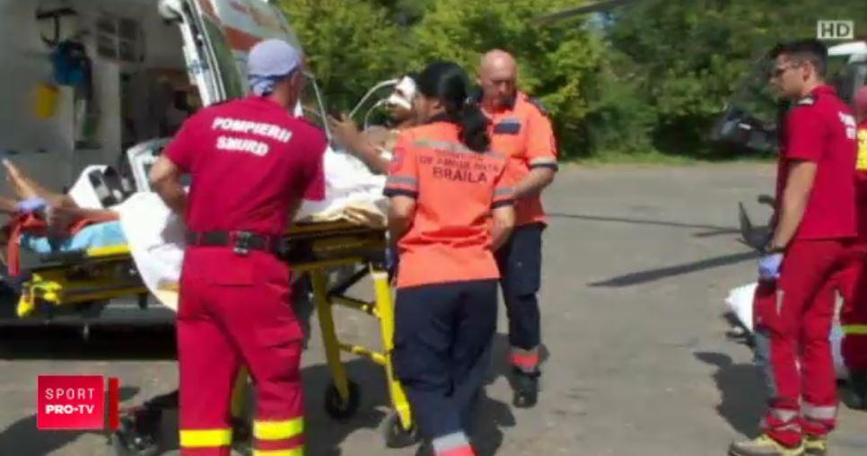 Darrel Bowie ambulanţa SMURD