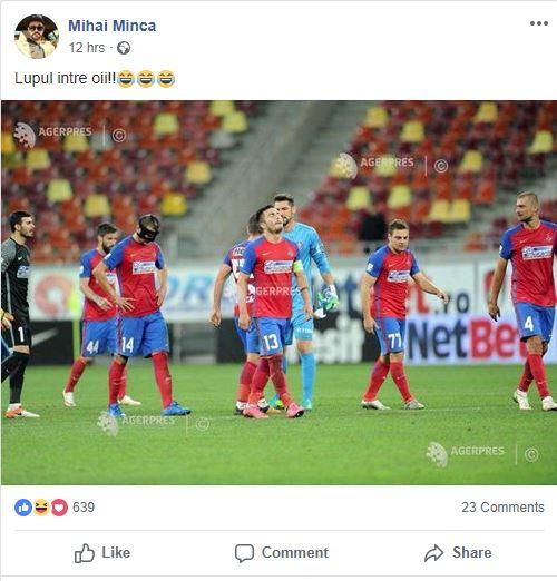 Mihai Mincă, ieșire în decor pe o rețea de socializare! Poza de pe fb