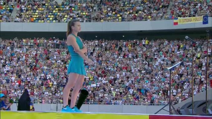 Simona Halep spune că a trăit un moement unic pe Arena Națională după câștigarea Roland Garros
