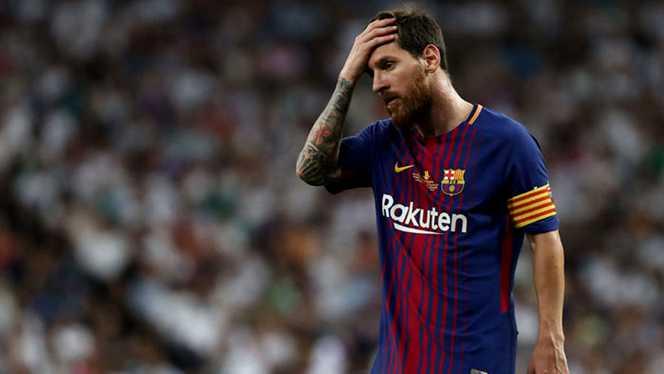 Messi, gest caritabil pentru copiii din Africa! Messi pe teren