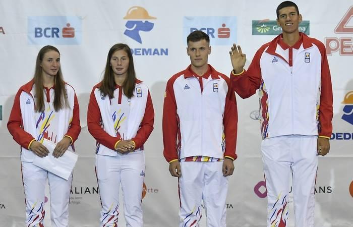 Canotorii Florin Arteni Fîntînariu, Laurenţiu Alexandru Danciu, Tabita Maftei şi Alina Maria Baleţchi au adus două medalii, una de argint și alta de bronz, la Jocuile Olimpice de tineret