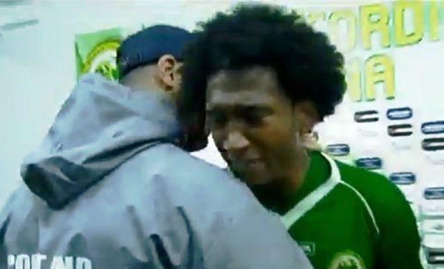 Wellington a plâns la finalul meciului în care a fost jignit de fanii Rapidului