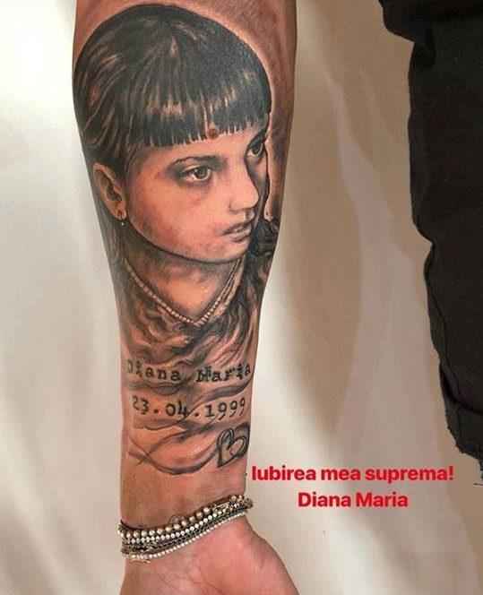 Ionel Dănciulescu şi-a tatuat chipul fiicei sale pe braţ înainte de Dinamo - FCSB