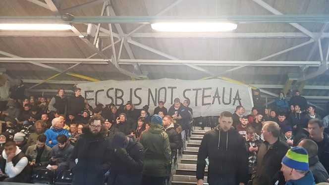 Mesajul FCSB nu este Steaua a ajuns şi în Liga Campionilor
