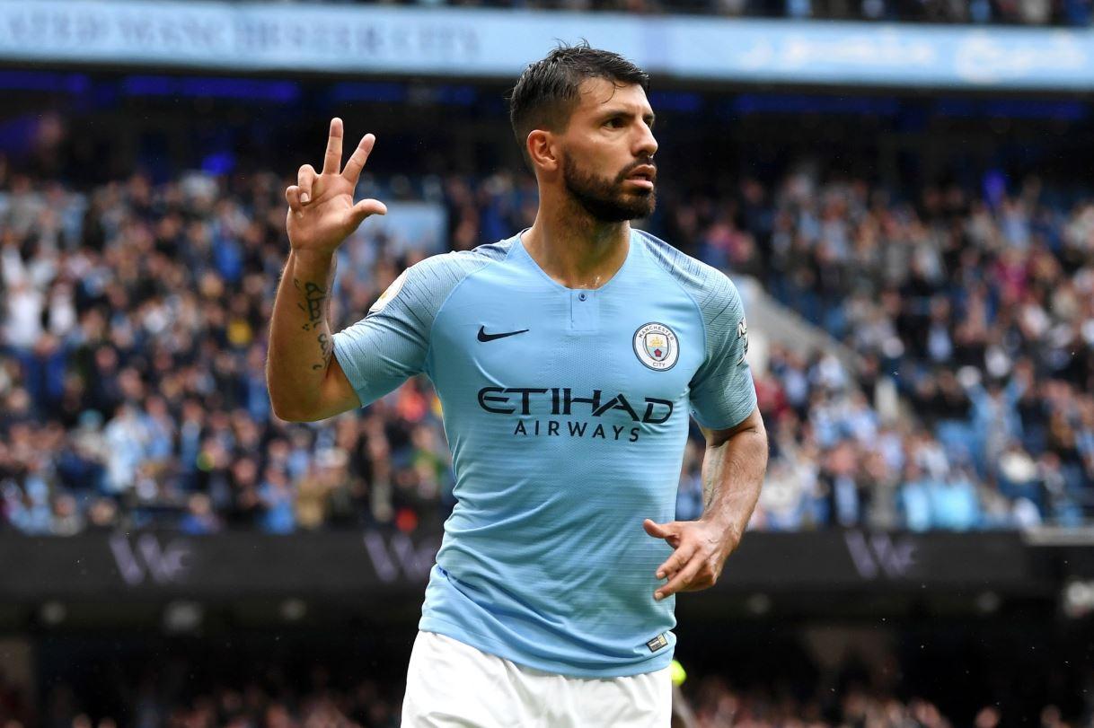 Sergio Aguero, cifre senzaţionale în tricoul lui Manchester City în Premier League