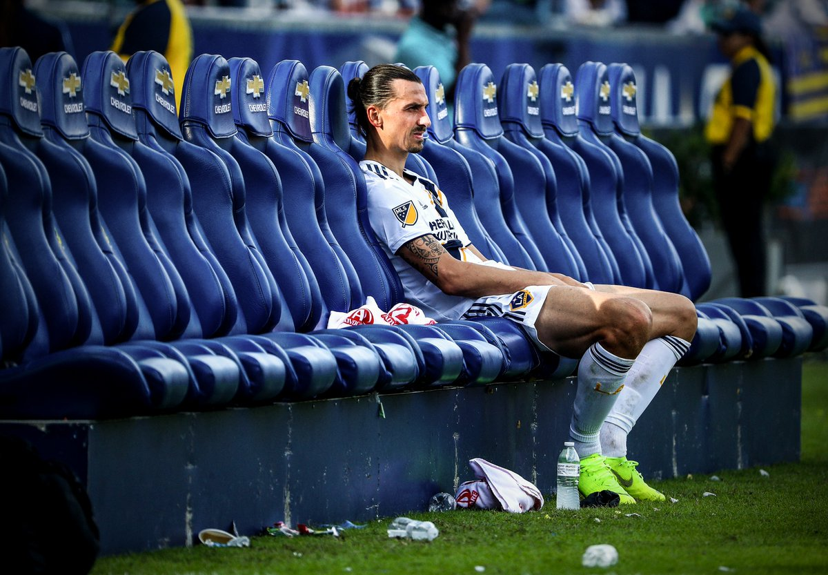 Zlatan Ibrahimovic disappointed after Ls Angeles Galaxy missed MLS play-off