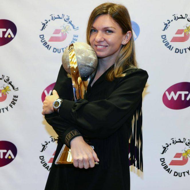 Simona Halep, cu titlul de