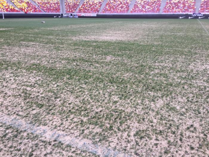 Așa arăta gazonul la derby-ul Dinamo - FCSB 1-1