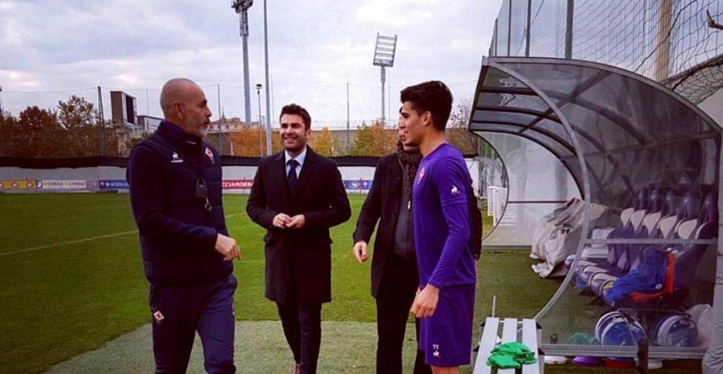 Adrian Mutu Ianis Hagi Fiorentina