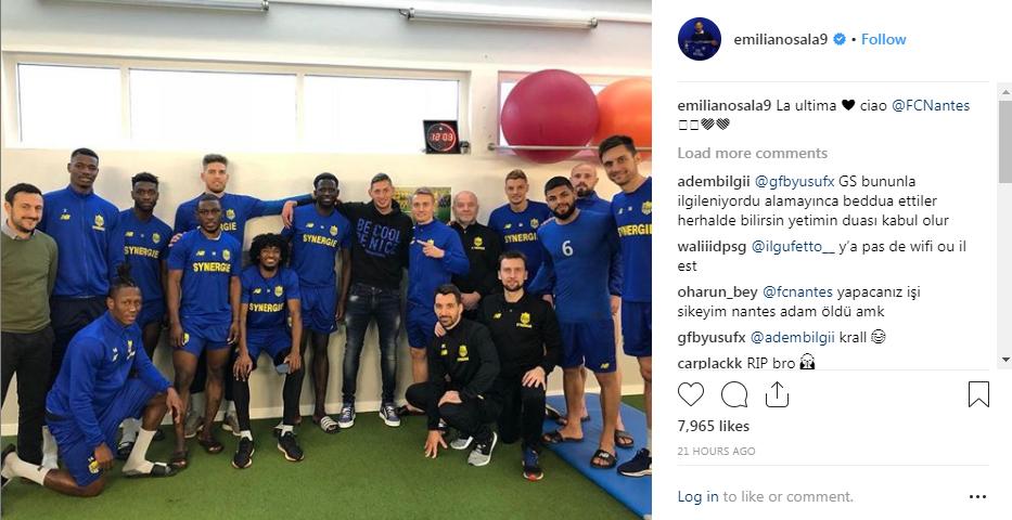 Cine este Emiliano Sala. Înainte de a pleca de la Nantes la Cardiff atacantul argentinian a postat pe Instagram mesajul