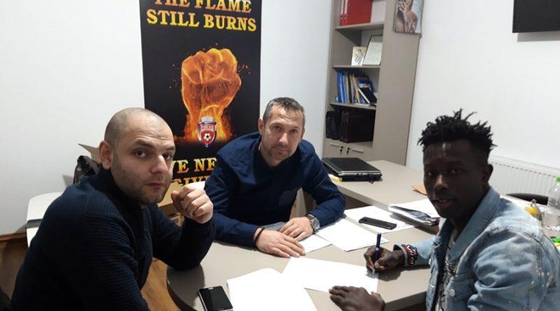 Moussa Diakite semnează contractul cu FC Botoșani