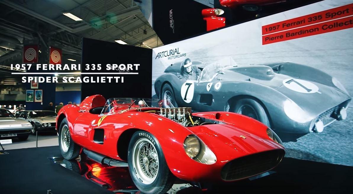 Leo Messi - 1957 Ferrari 335 S Spider Scaglietti
