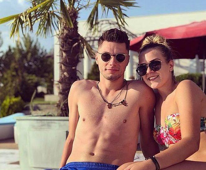 Lorena Stoican şi Andrei Burlacu formează deja un cuplu bine sudat