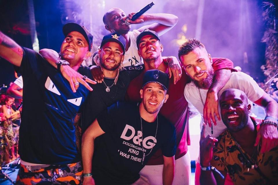 Neymar, Melo, Medina și Lima