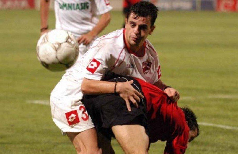 """Dorin Semeghin a fpost remarcat de Sir Alex Ferguson în """"dubla"""" lui Manchester United cu Dinamo din 2004, în turul 3 preliminar al Ligii Campionilor, 2-1 la București și 3-0 la Manchester"""
