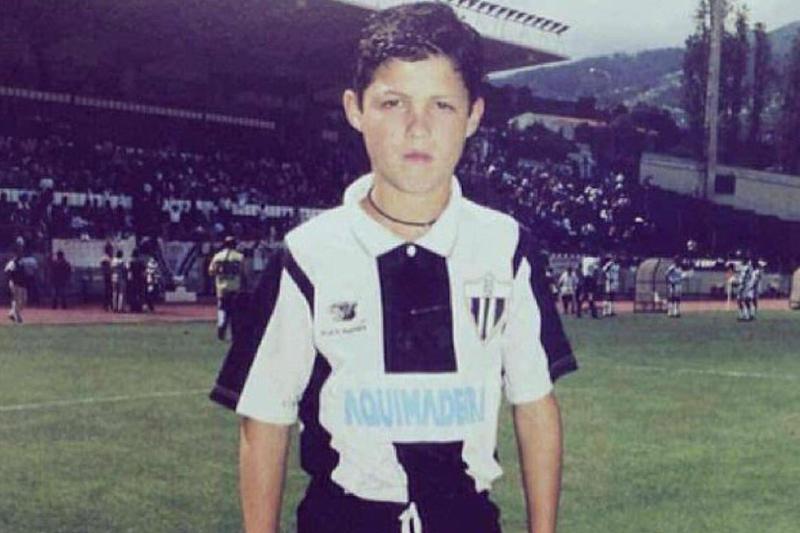 Cristiano Ronaldo în tricoul lui Nacional