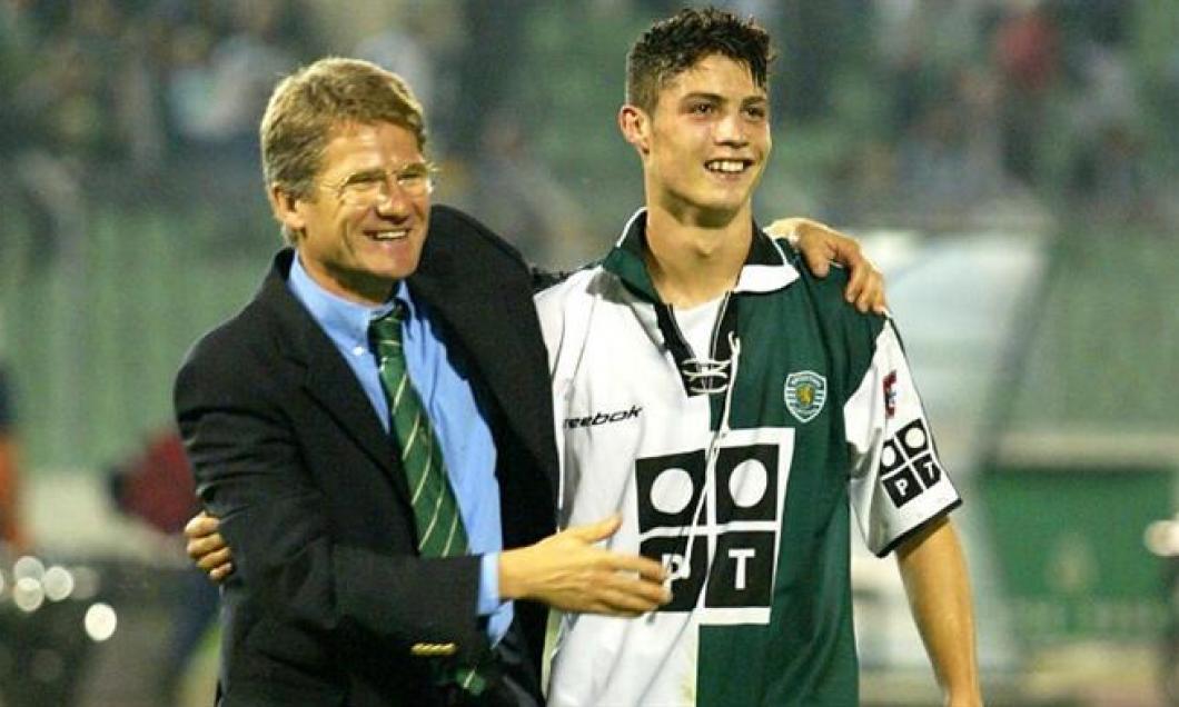 Cristiano Ronaldo şi Ladislau Boloni