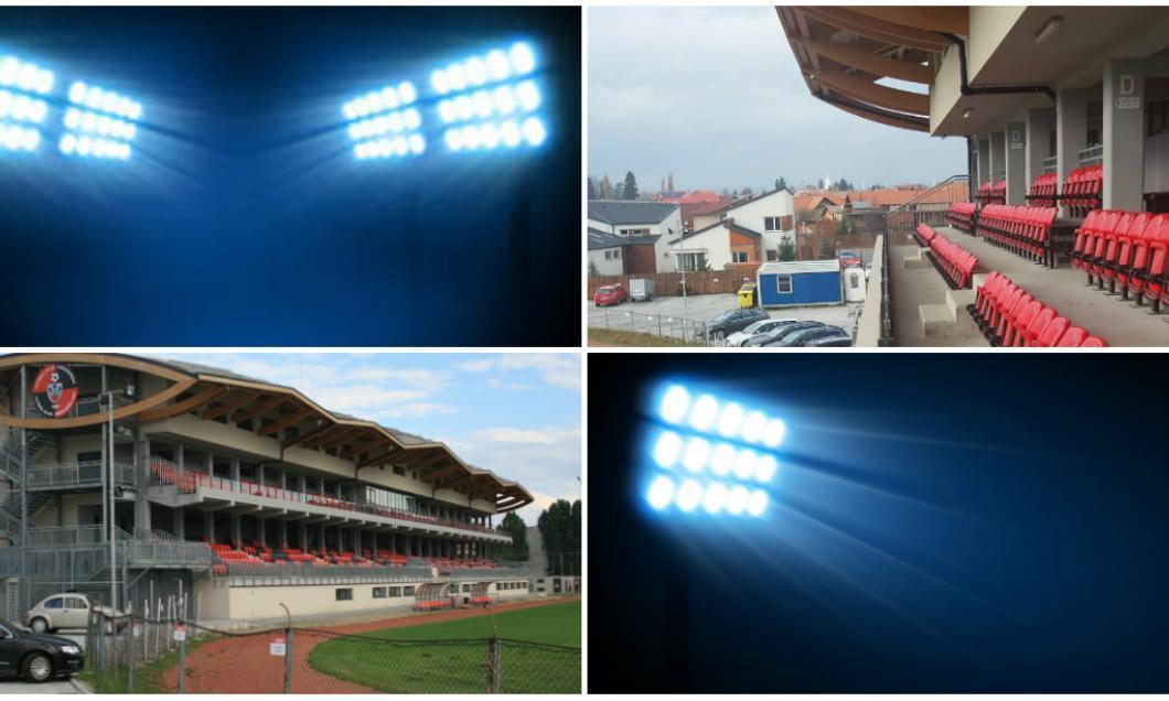 Stadionul pe care evoluează Csikszereda în Miercurea Ciuc