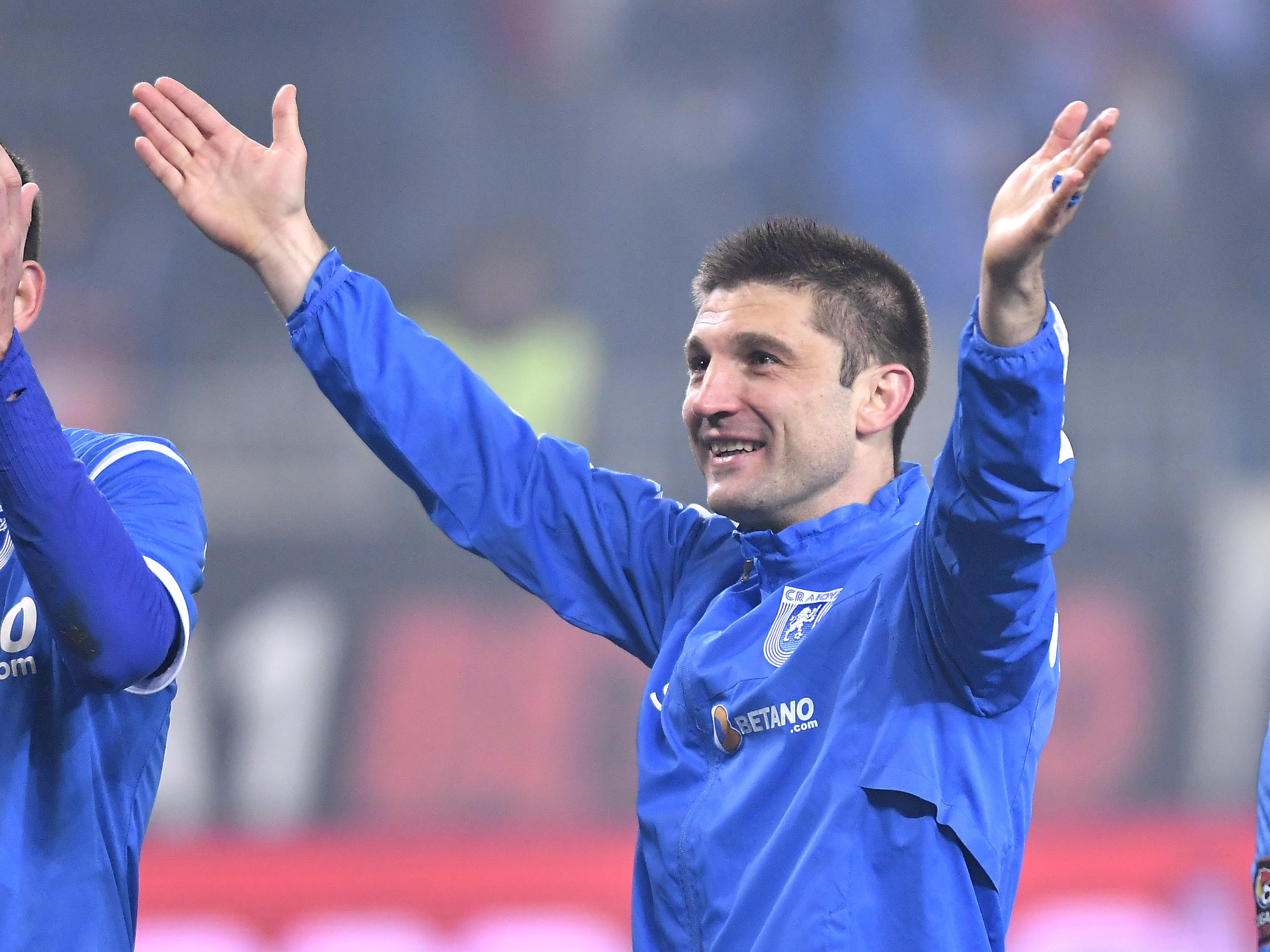 Andrei Cristea este fascinat de fanii Universităţii Craiova