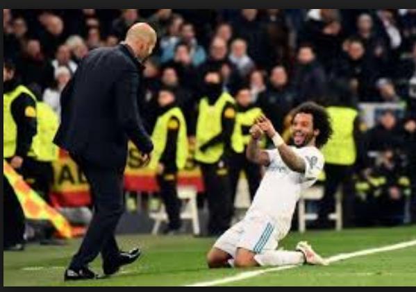 Marcelo are un cult pentru Zinedine Zidane, pentru care a jucat și accidentat