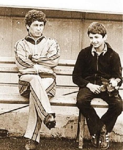 Mircea Lucescu și Răzvan Lucescu, întotdeauma doi prieteni apropiați