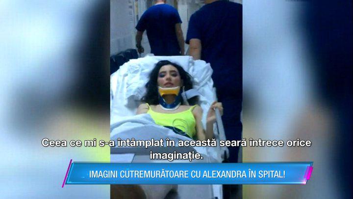 Alexandra, concurenta de la Bravo, ai stil, a fost implicată în accident auto! A ajuns de urgenţă la spital