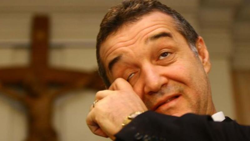 Gigi Becali s-a implicat in cazul arbitriului Lucian Stiube