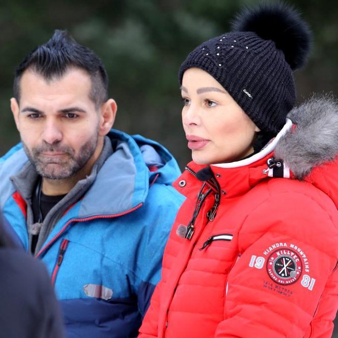 Brigitte Năstase și Florin Pastramă, în tandrețuri la Ferma