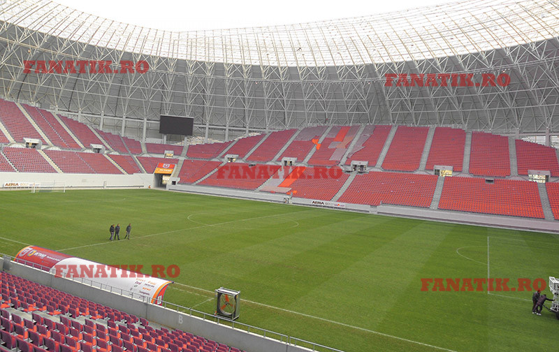 Interior noul stadion Dinamo