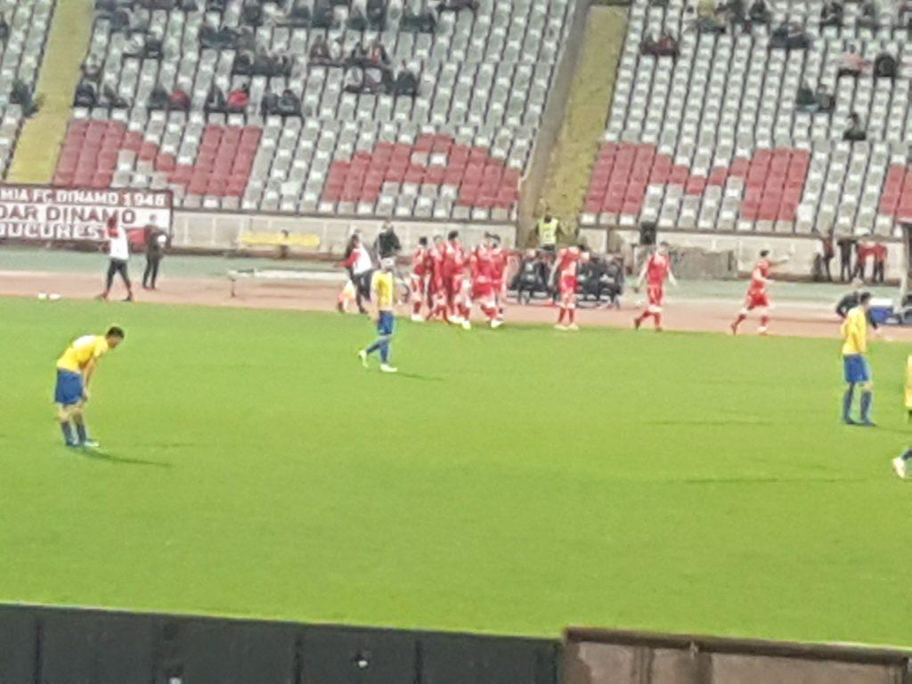 Stadionul a fost pustiu la Dinamo - Dunarea