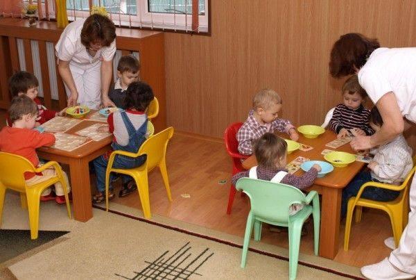 Copii injurati la cresa