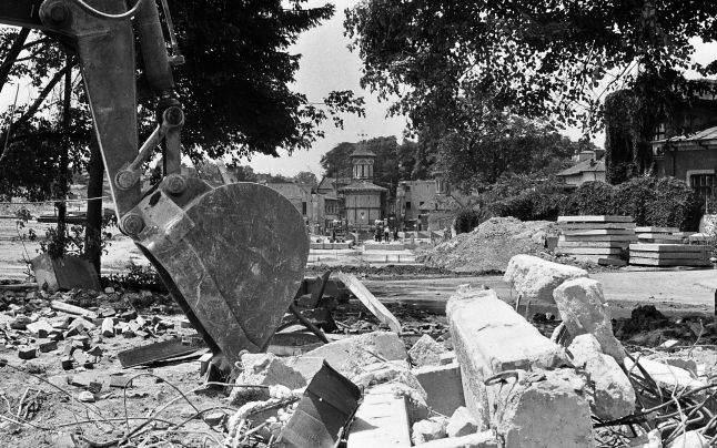 Cartierul Uranus, transformat în scrum de Nicolae Ceaușescu